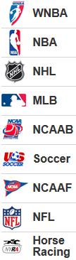 list-of-betting-sports